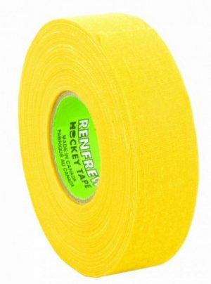 Лента хоккейная RENFREW 24 мм х 25 м желтый MadGuy. Цвет: желтый