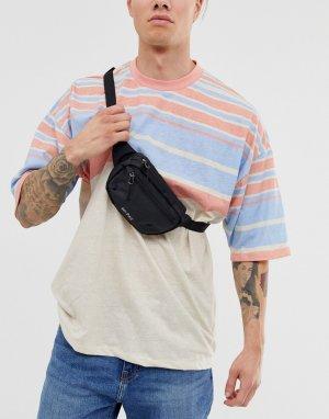 Черная нейлоновая сумка-кошелек на пояс из ткани рип-стоп Mi-Pac