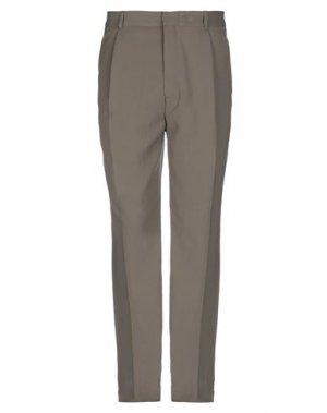 Повседневные брюки BAND OF OUTSIDERS. Цвет: светло-зеленый