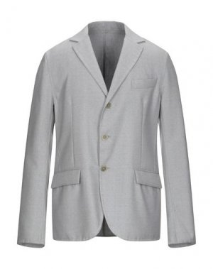 Пиджак ERMANNO SCERVINO. Цвет: светло-серый