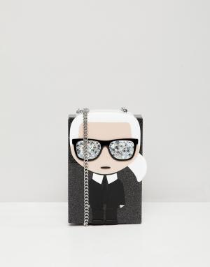 Сумка iconic karl minaudiere Lagerfeld