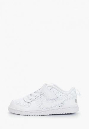 Кеды Nike BOYS COURT BOROUGH LOW (TD) TODDLER SHOE. Цвет: белый