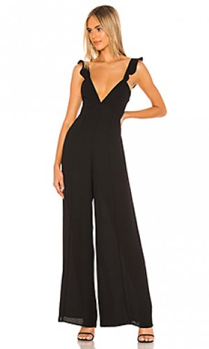 Пляжный костюм с широкими брюками jilly RESA. Цвет: черный