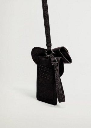 Чехол для телефона со съемными деталями - Costa Mango. Цвет: черный