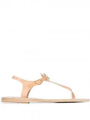 Декорированные сандалии Lito Ancient Greek Sandals. Цвет: нейтральные цвета