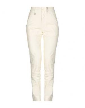 Повседневные брюки HIGH by CLAIRE CAMPBELL. Цвет: слоновая кость