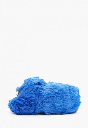 Тапочки Beppi. Цвет: синий