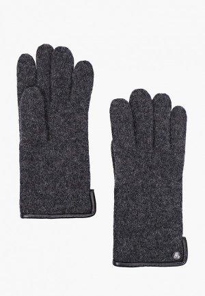 Перчатки Roeckl. Цвет: серый