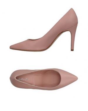 Туфли J|D JULIE DEE. Цвет: розовый