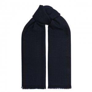 Кашемировый шарф Corneliani. Цвет: синий