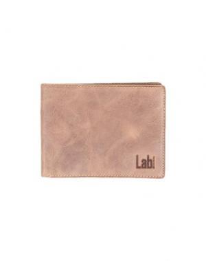 Бумажник LAB. PAL ZILERI. Цвет: коричневый