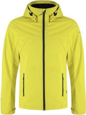 Куртка софтшелл мужская Biggs, размер 54 IcePeak. Цвет: желтый