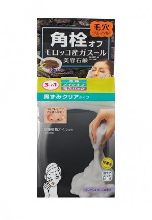 Мыло для лица BCL умывания и очищения пор с вулканической глиной, 80 гр. Цвет: прозрачный