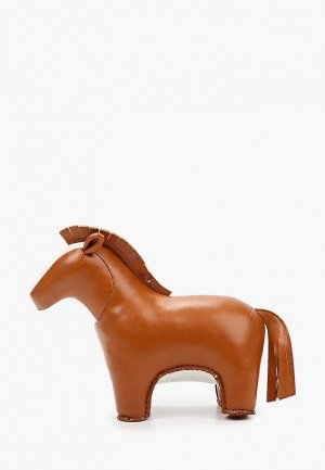 Фигурка декоративная White Moose Лошадка Квикки. Цвет: коричневый