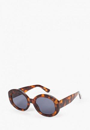 Очки солнцезащитные Mango - IMMAS. Цвет: коричневый