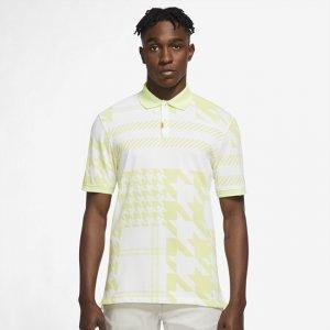 Мужская рубашка-поло в клетку с плотной посадкой  Polo - Желтый Nike