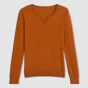 Пуловер R essentiel. Цвет: синий лазурный