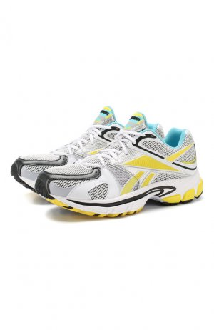 Текстильные кроссовки x Reebok Spike Runner 200 Vetements. Цвет: синий