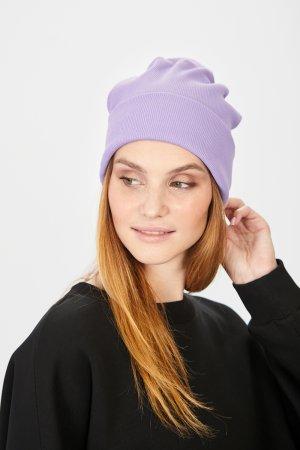 Шапка baon. Цвет: фиолетовый
