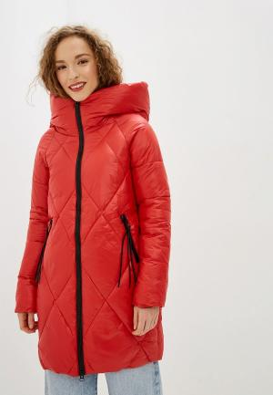 Куртка утепленная Allegri. Цвет: красный