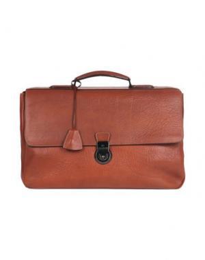 Деловые сумки GHERARDINI. Цвет: коричневый