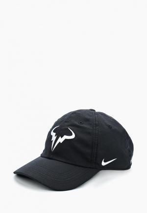 Бейсболка Nike NikeCourt AeroBill H86 Rafa Tennis Hat. Цвет: черный