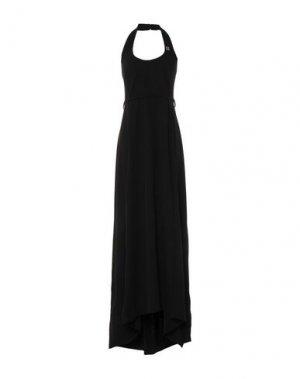 Длинное платье ROBERTA BIAGI. Цвет: черный