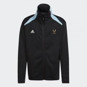Олимпийка AEROREADY Messi X Football-Inspired Performance adidas. Цвет: черный