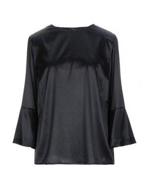 Блузка CLIPS. Цвет: черный