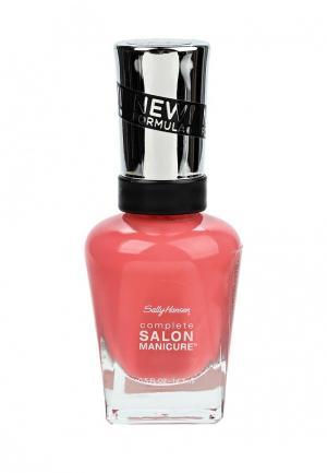 Лак для ногтей Sally Hansen Salon Manicure Keratin тон get juiced  546 14,7 мл. Цвет: розовый