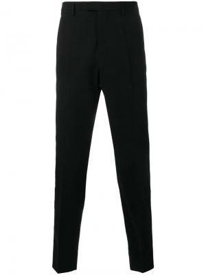 Классические брюки Gucci. Цвет: черный