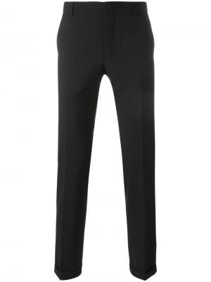 Классические брюки Prada. Цвет: черный