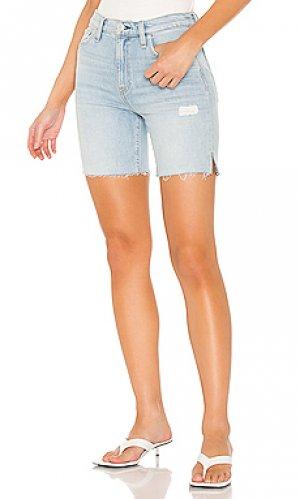 Джинсовые шорты hana Hudson Jeans. Цвет: none