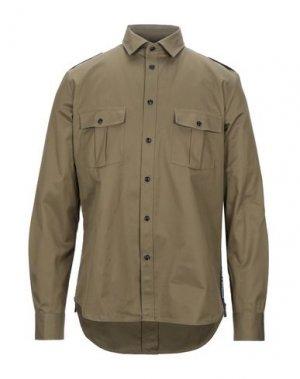 Pубашка BAND OF OUTSIDERS. Цвет: зеленый-милитари