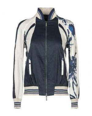 Куртка MANILA GRACE. Цвет: темно-синий