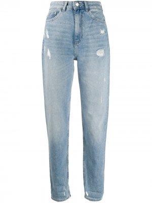 Зауженные джинсы с завышенной талией Emporio Armani