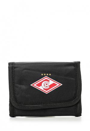 Кошелек Atributika & Club™ FC Spartak. Цвет: черный