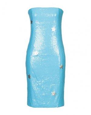 Короткое платье EAN 13. Цвет: бирюзовый