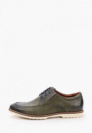 Туфли Franco Bellucci. Цвет: зеленый