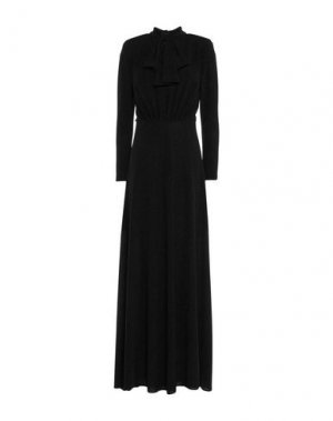 Длинное платье TOY G.. Цвет: черный