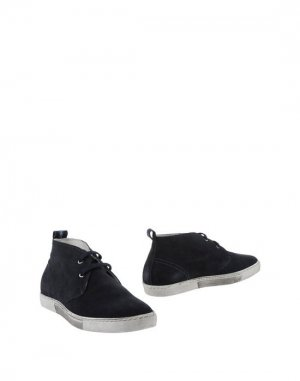 Полусапоги и высокие ботинки HENNE. Цвет: темно-синий