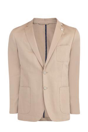 Пиджак MICHAEL KORS. Цвет: коричневый
