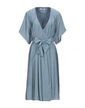 Платье до колена DRY LAKE.. Цвет: пастельно-синий