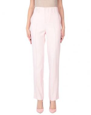 Повседневные брюки AQUILANO-RIMONDI. Цвет: розовый