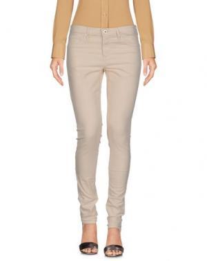 Повседневные брюки AG JEANS. Цвет: слоновая кость