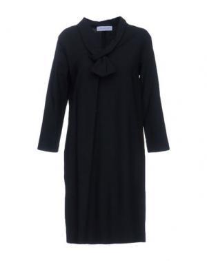 Короткое платье ANNA RACHELE JEANS COLLECTION. Цвет: черный