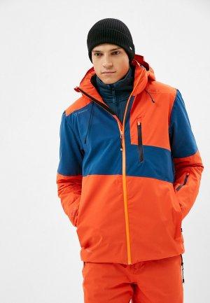 Куртка горнолыжная Brunotti Sad. Цвет: оранжевый