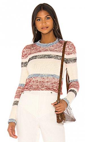 Пуловер wesley Lovers + Friends. Цвет: мульти