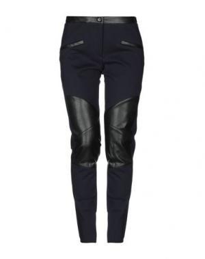 Повседневные брюки ALTEЯƎGO. Цвет: темно-синий
