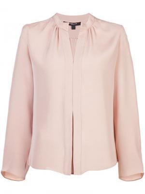 Блузка Kara с длинными рукавами Derek Lam. Цвет: нейтральные цвета